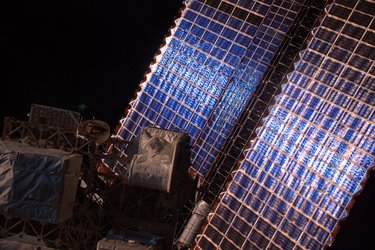 Space Station solar panels
