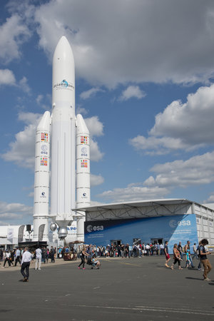 ESA Pavilion, at the 2015 Paris Air and Space Show