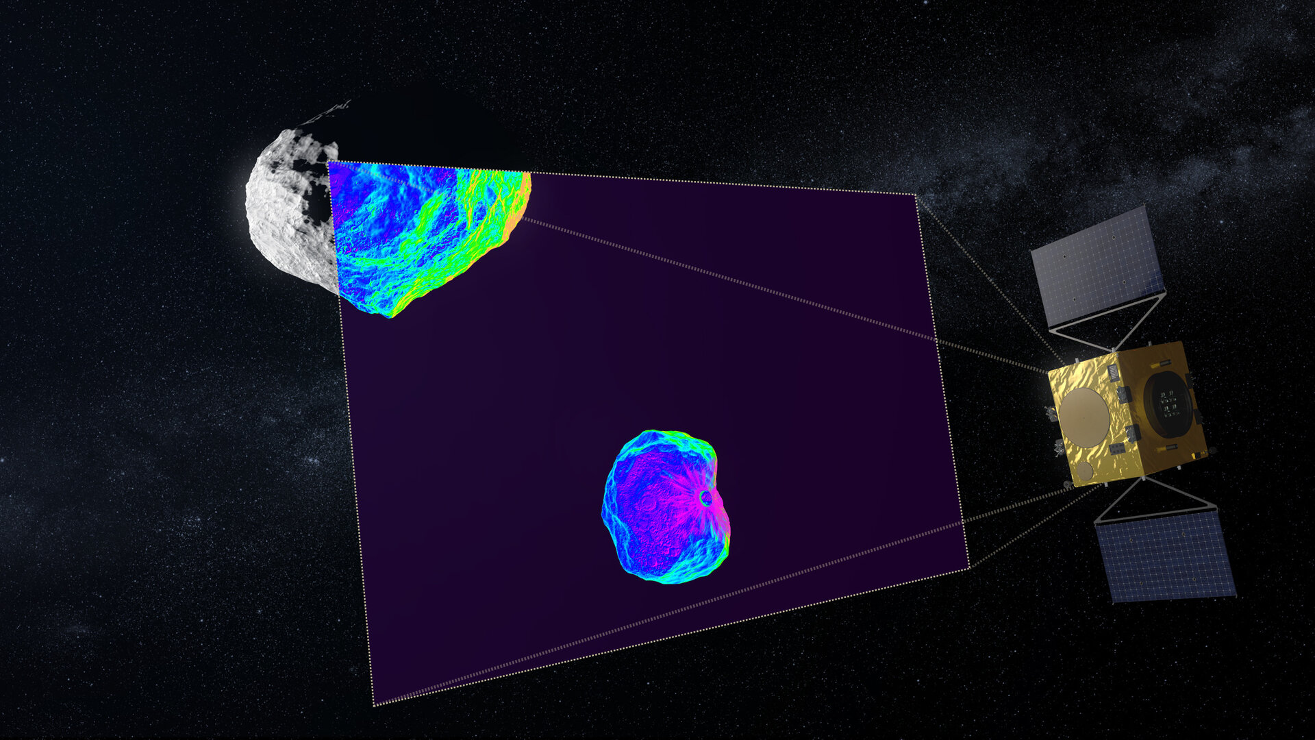 Infrared imaging of asteroids