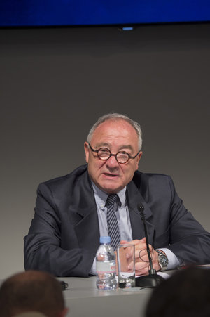 Jean-Jacques Dordain during the ESA press conference