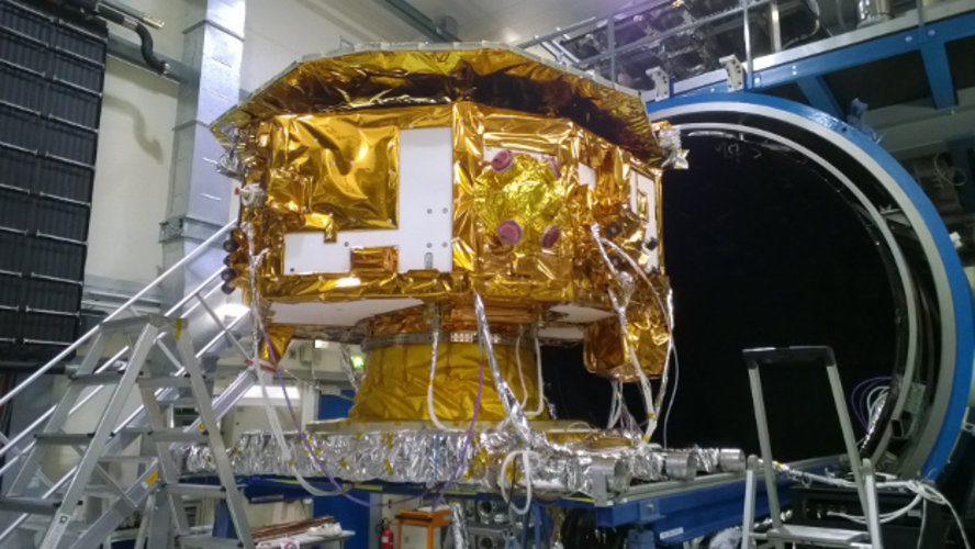 LISA Pathfinder at test centre