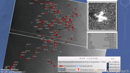 Tracking ships from space