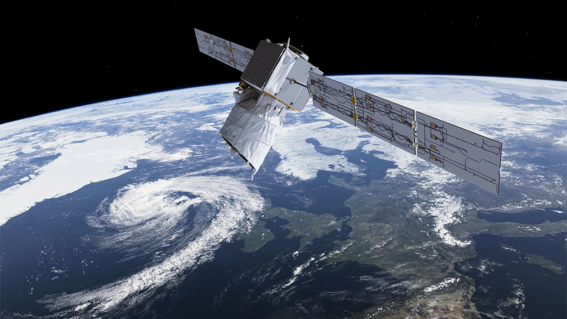 Aeolus was recently manoeuvred to avoid collision with a satellite in a constellation