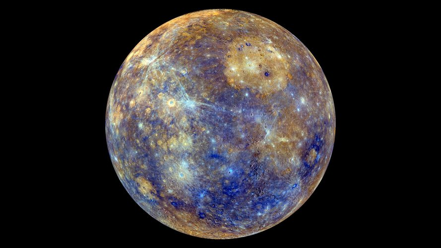 Messenger's iridescent Mercury