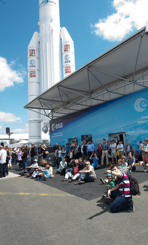 Public Day at the ESA Pavilion