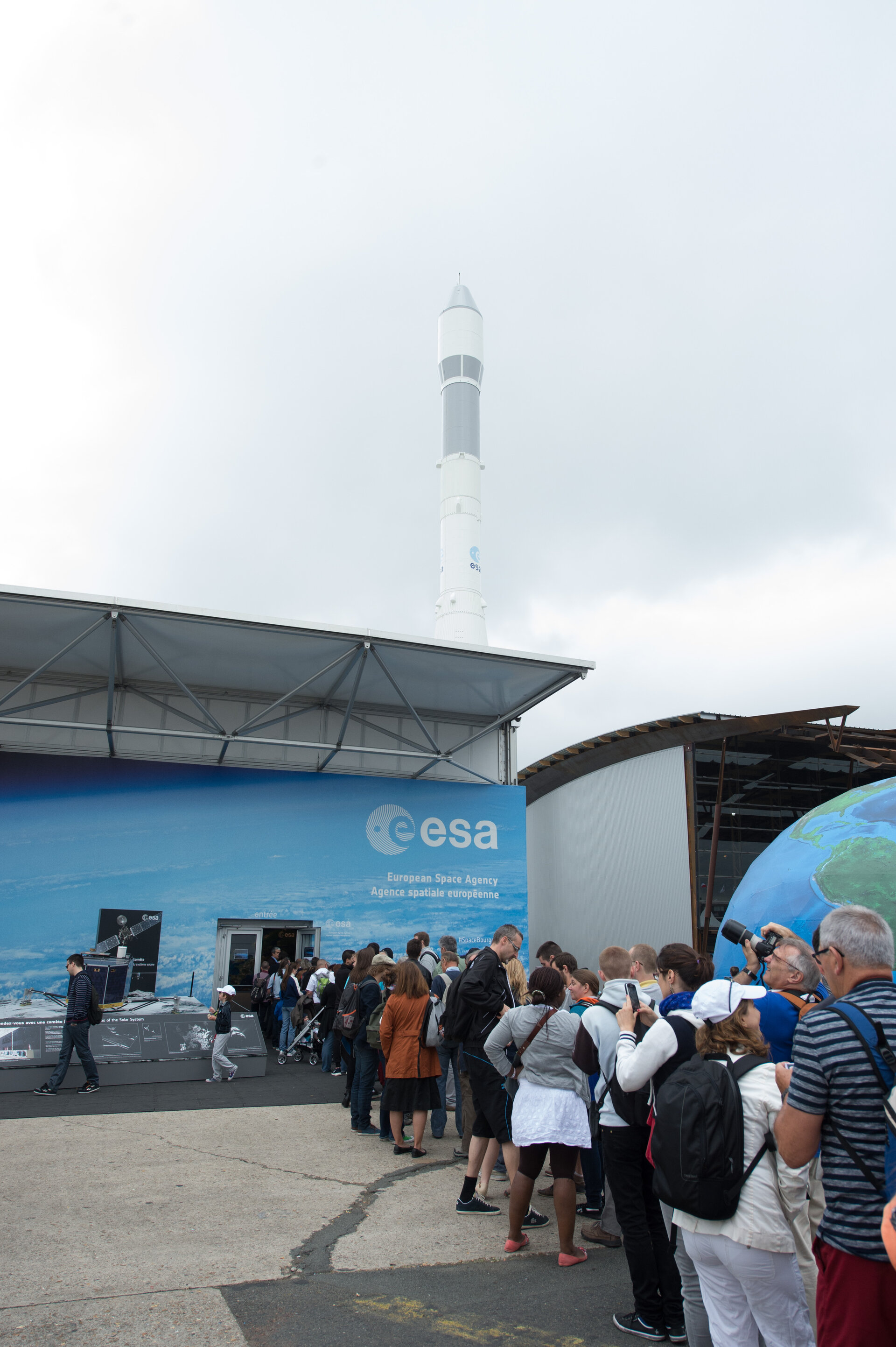 Public day at the Paris Air and Space Show