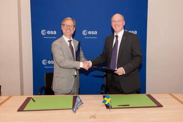 Sweden signs up for Sentinel data