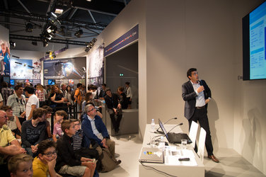 Vega programme presented at the ESA Pavilion