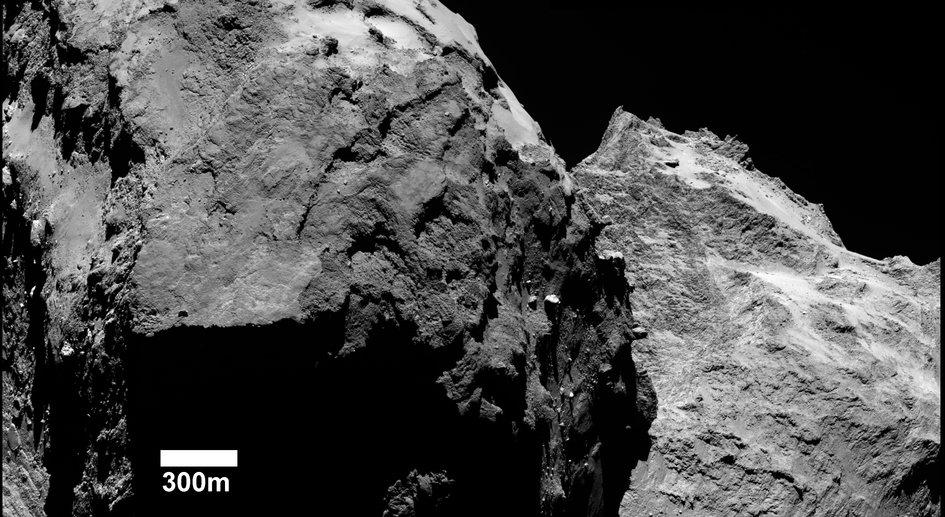 Betagende billeder af komet 67P fra Rosetta
