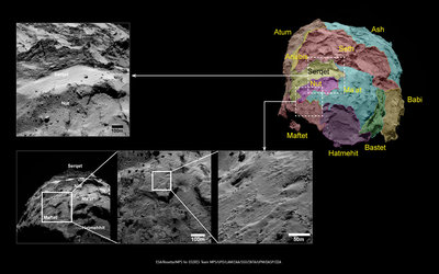 Comet boundaries: Ma'at, Maftet, Nut and Serqet