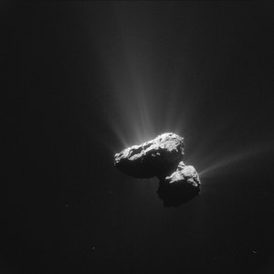 Comet on 14 July 2015 – NavCam