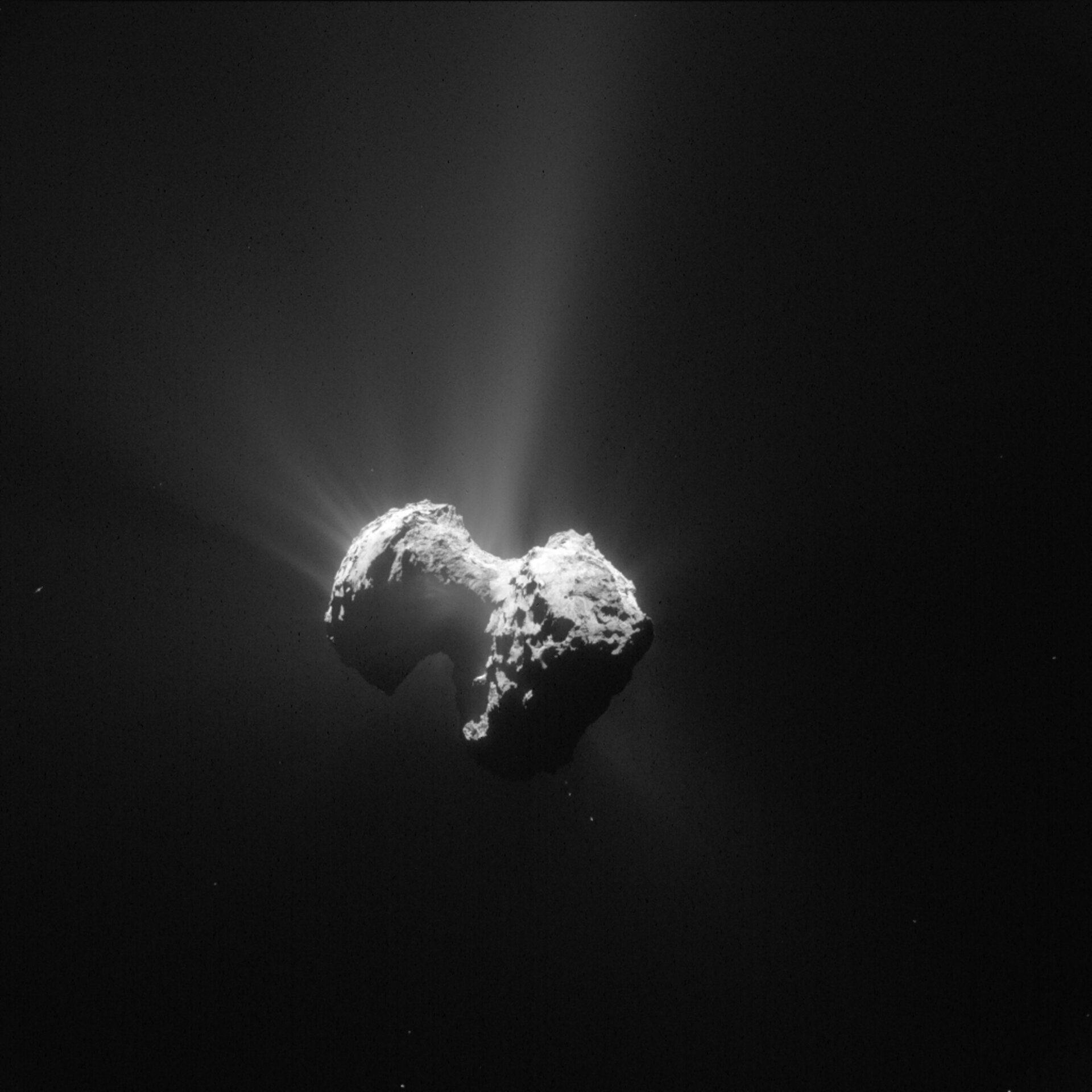 Comet on 20 July 2015 – NavCam