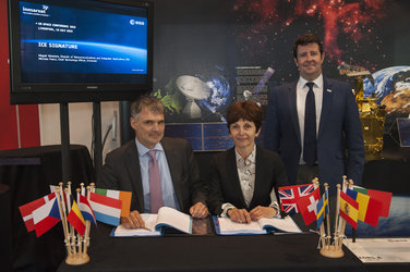 ESA signs ICE partnership
