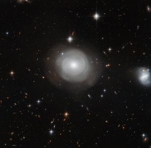 Ghostly galaxy