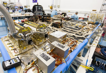 Inside Galileo's navigation payload
