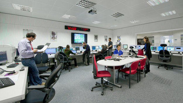 LISA Pathfinder is operated by a team of mission control experts at ESOC, ESA's European Space Operations Centre, Darmstadt, Germany