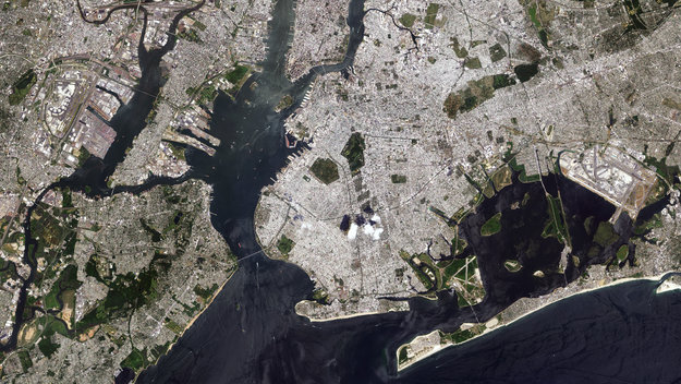 New York City large - ESA satellite pictures