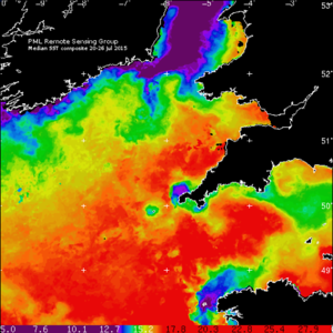 Sea-surface temperature