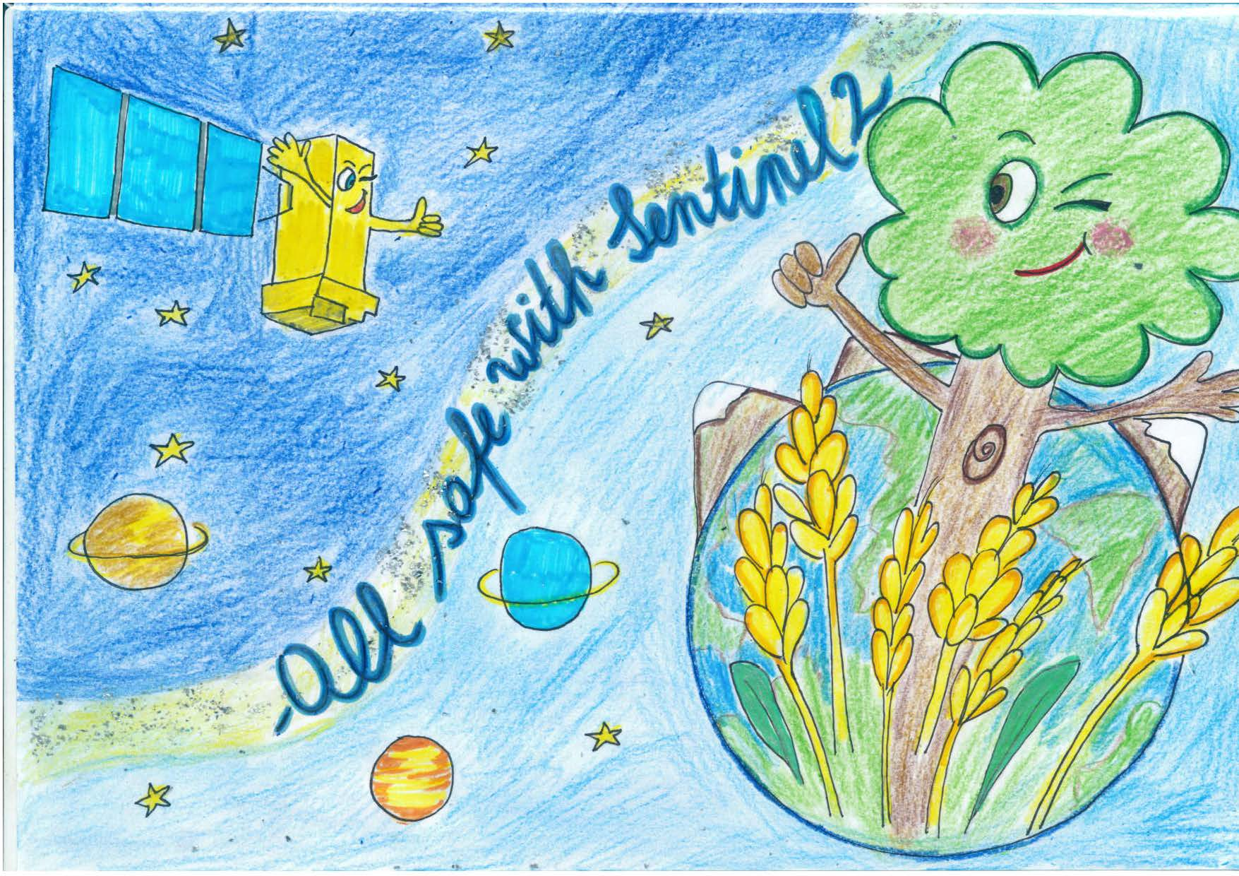 Space in Images - 2015 - 07 - Sentinel-2 kids' competition ...