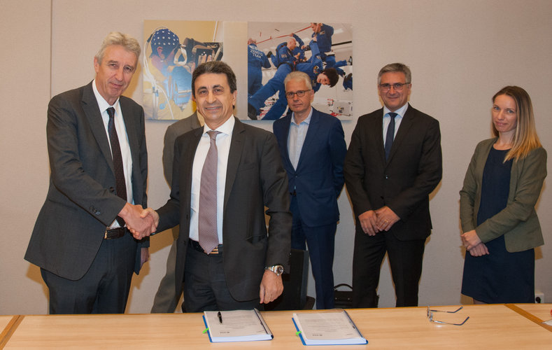 Signature of the ESA/Europropulsion