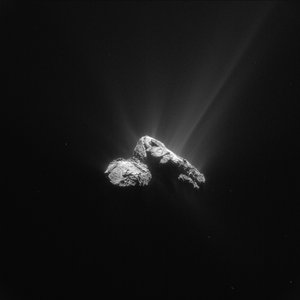 Comet on 30 July 2015 – NavCam