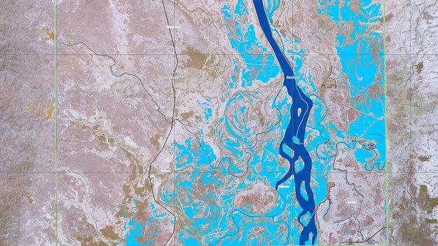 Myanmar inundated