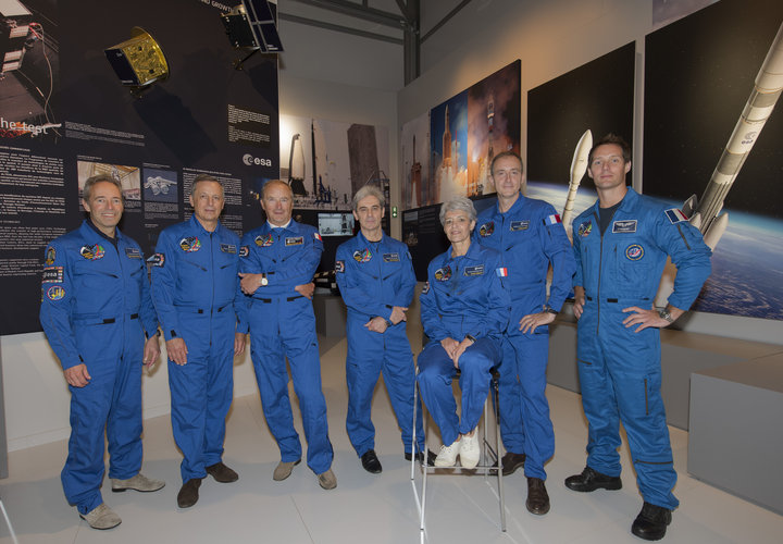French ESA astronauts