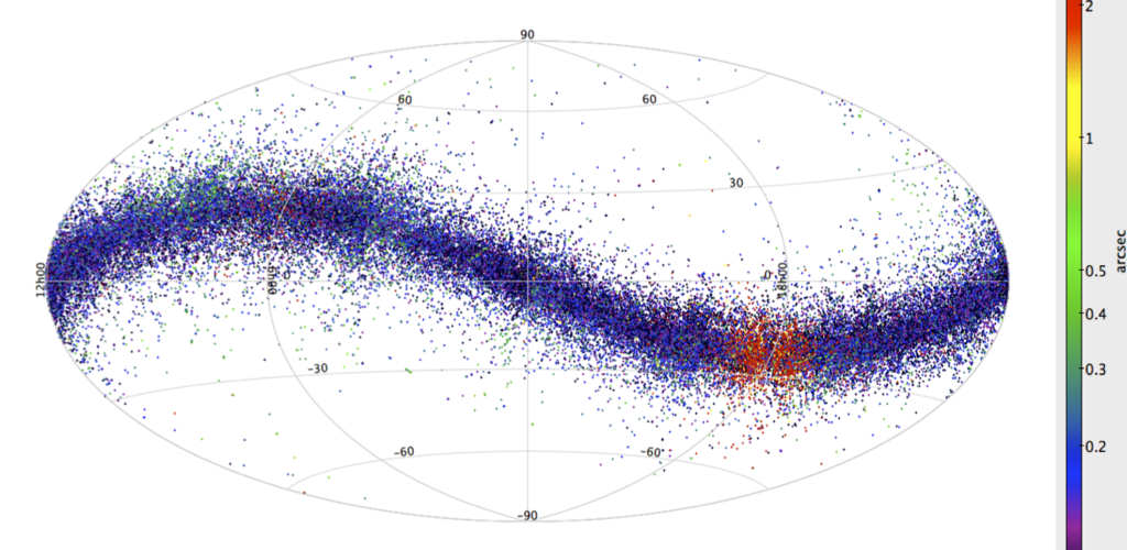 Gaia's asteroid detections