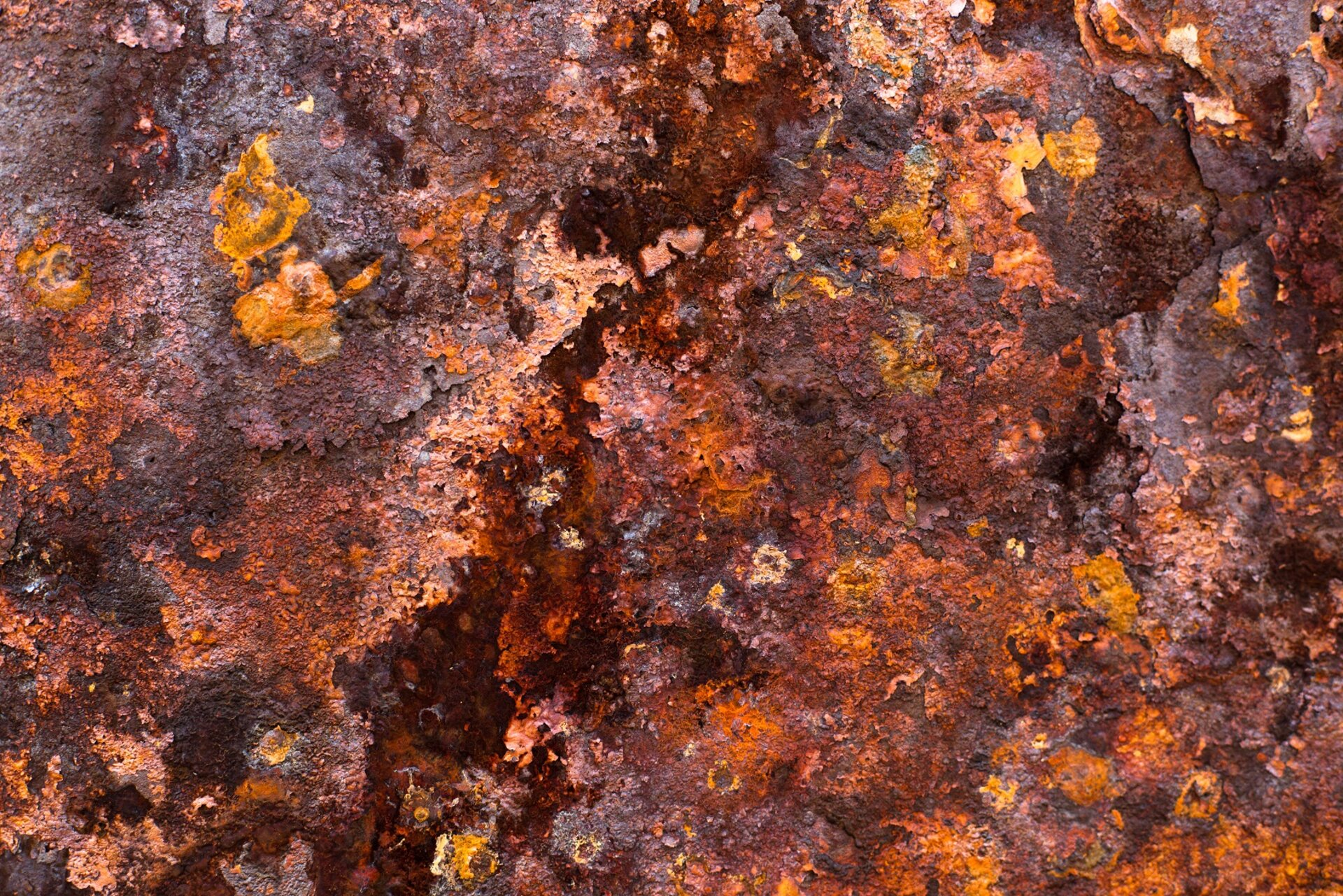 Rust on iron