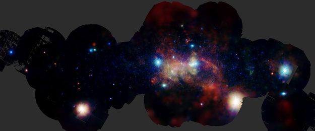 El turbulento corazón de nuestra Galaxia
