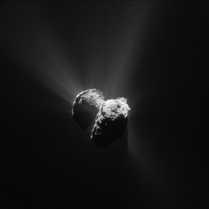 Year at a comet, July 2015