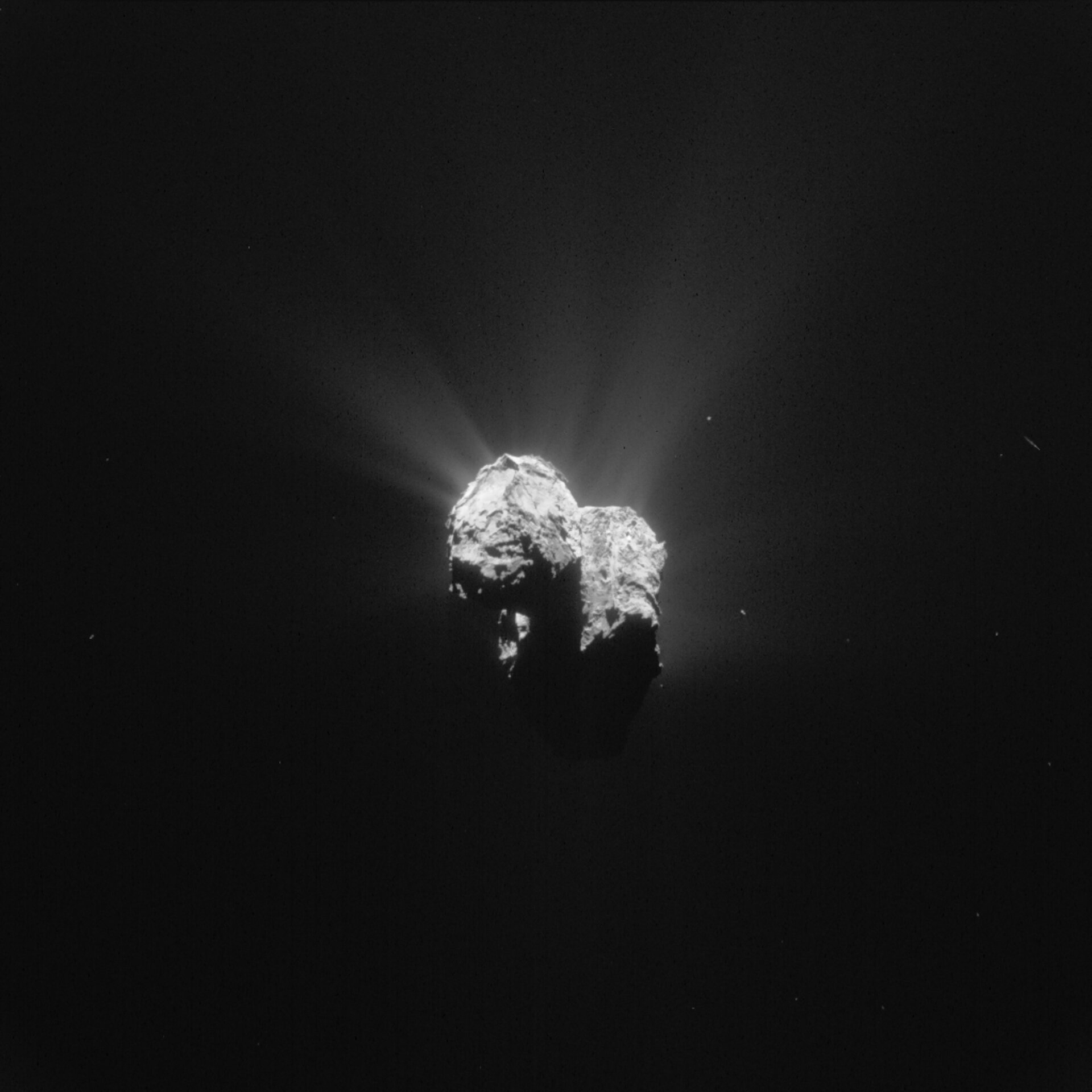 Year at a comet, June 2015