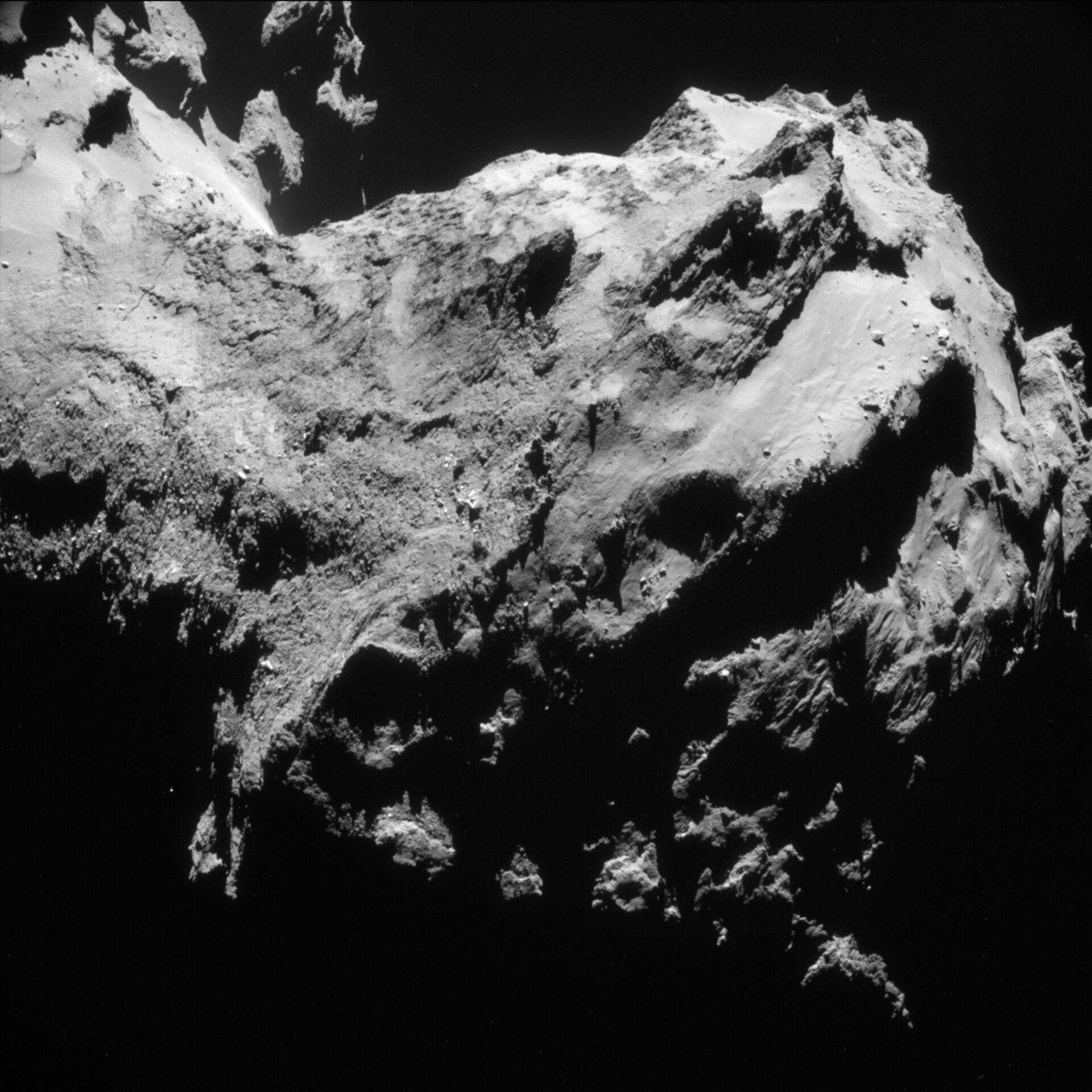 Year at a comet, September 2014