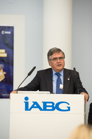 Alvaro Giménez at IABG's space test centre