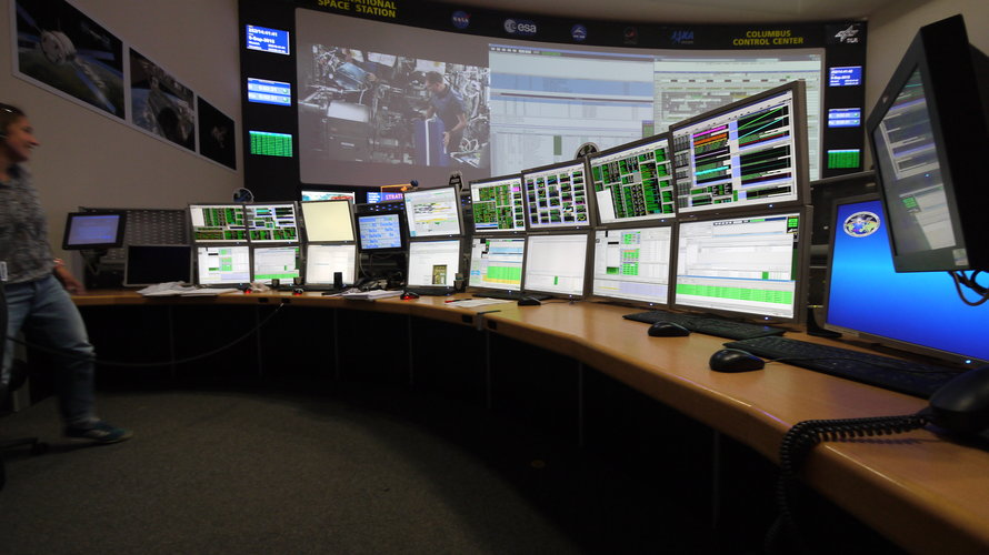 Columbus Systems, Data Management and Communications Engineer station
