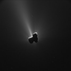 Comet on 11 September 2015 – NavCam