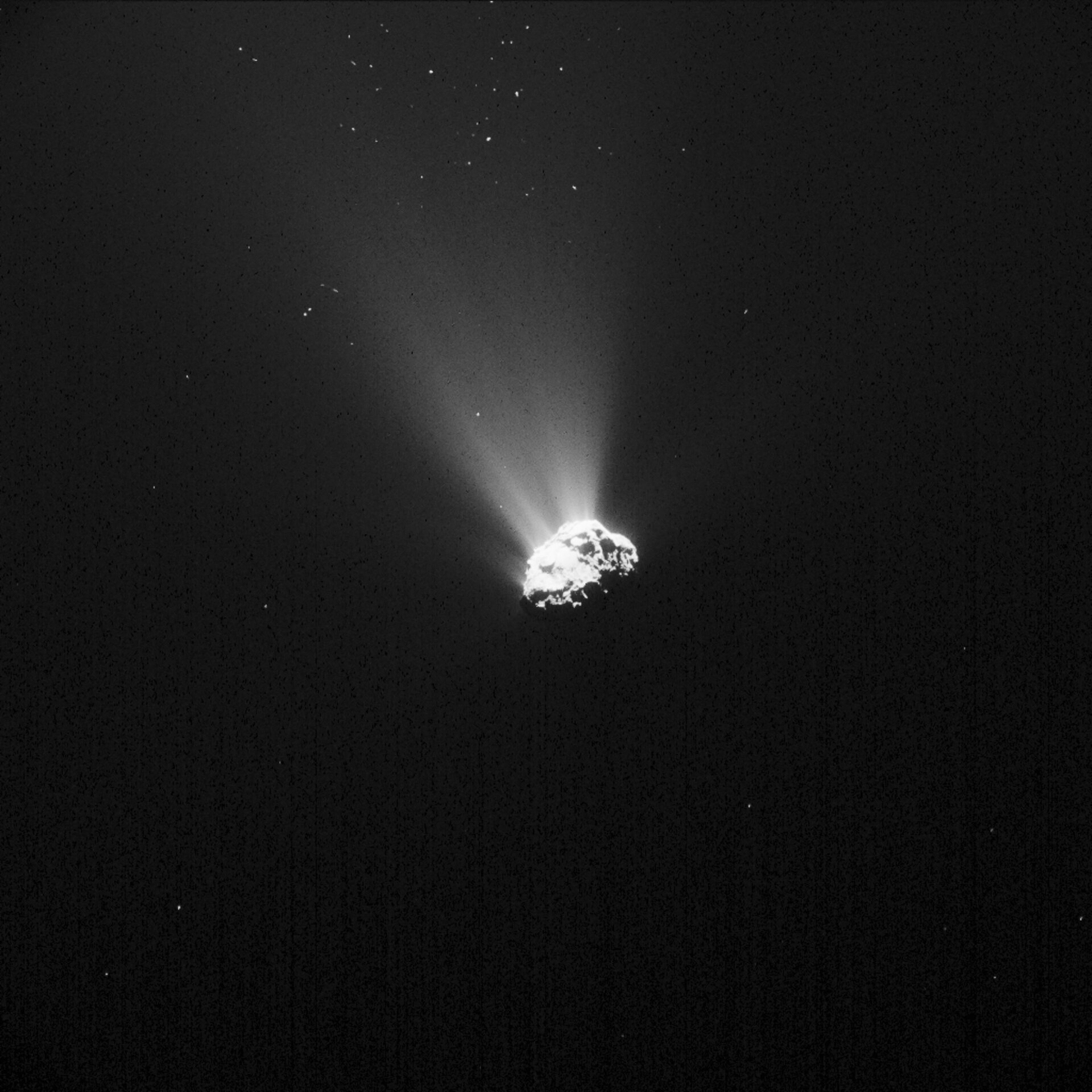 Comet on 5 September 2015 – NavCam