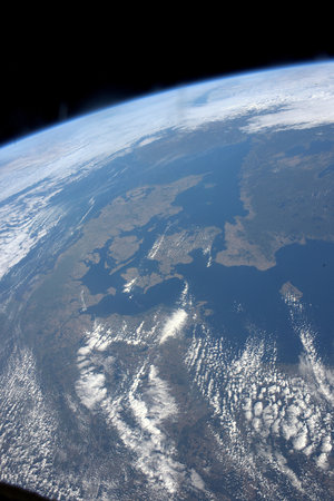 Denmark seen from space