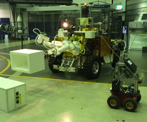 Eurobot rover with surveyor