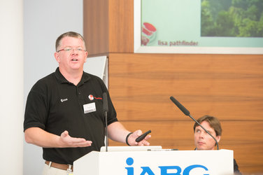 Presentation at IABG's space test centre