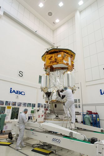 LISA Pathfinder launch composite at IABG's space test centre