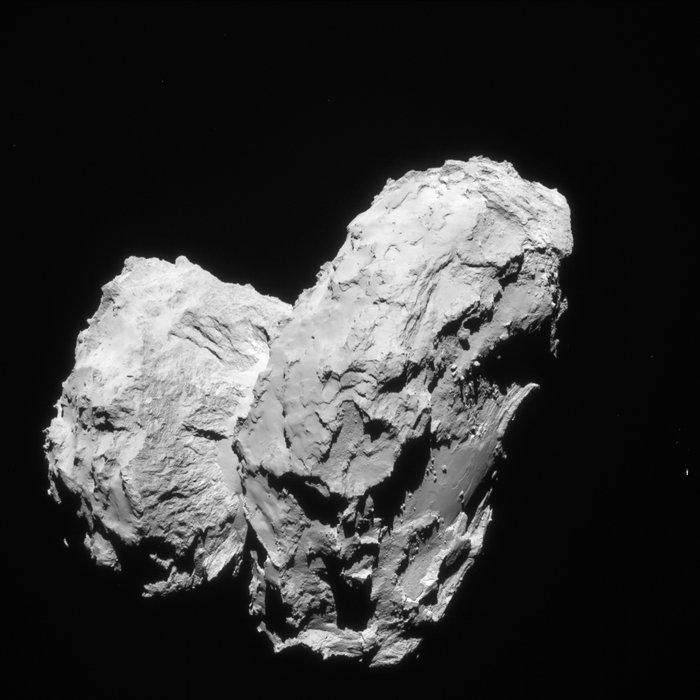ESA image of Comet 67P/Churyumov–Gerasimenko