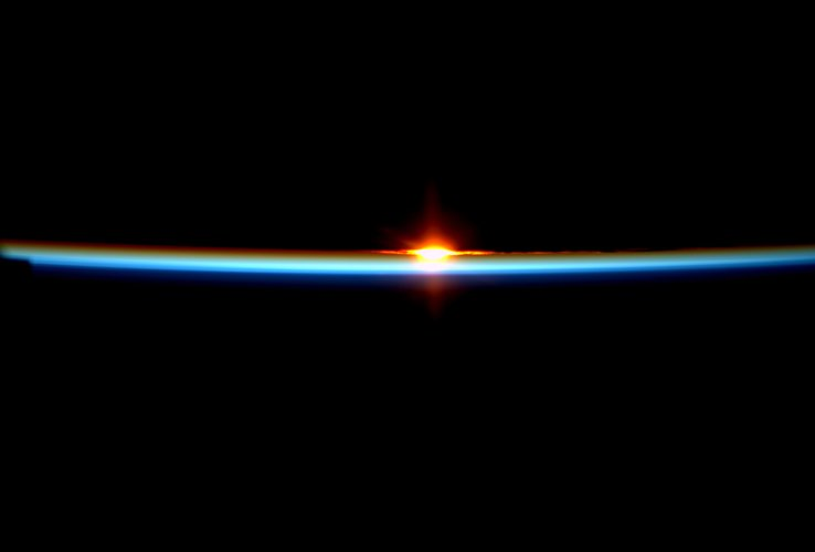 Space Station sunrise