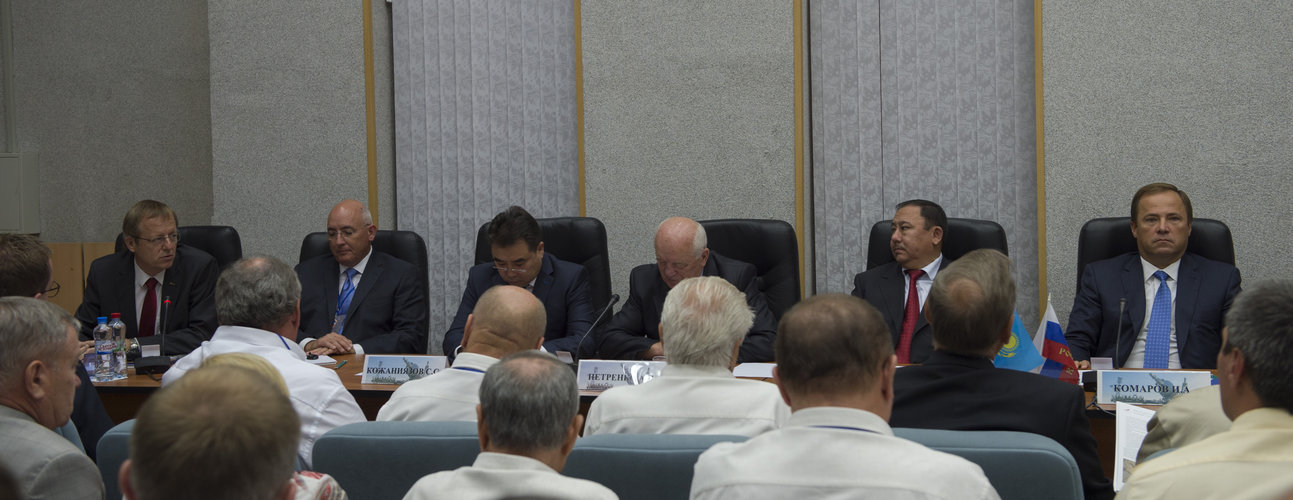 State Commission meeting to approve the Soyuz launch