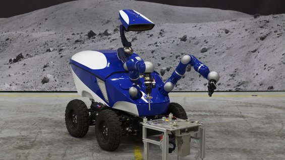 Remotely-driven rover