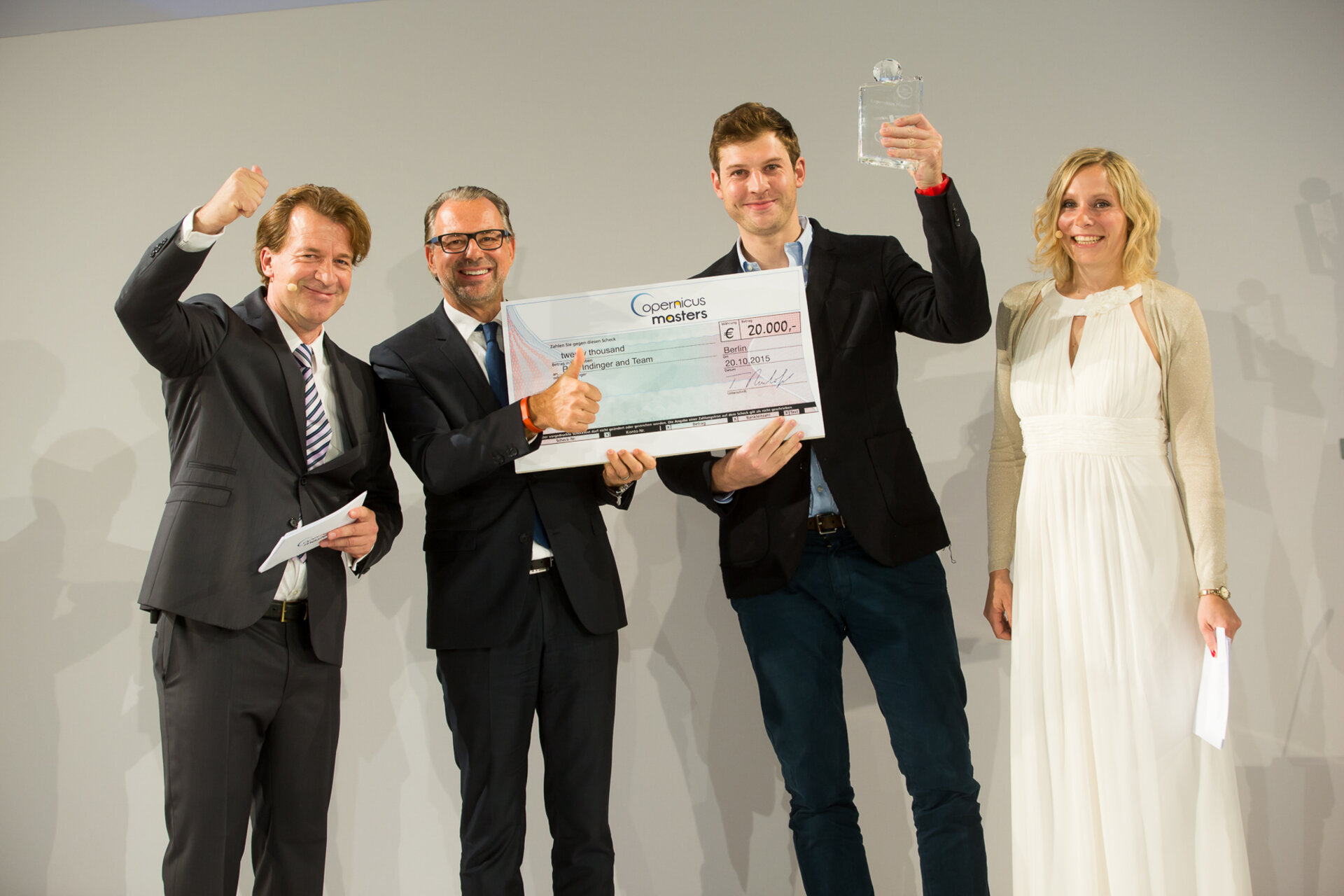 2015 Copernicus Masters first prize