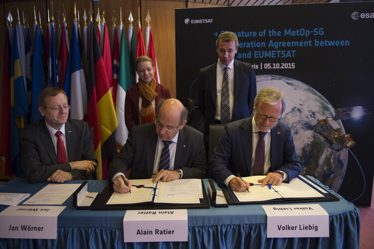 Agreement paves the way for MetOp Second Generation