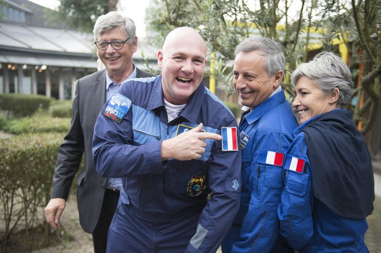 Astronauts at Open Day