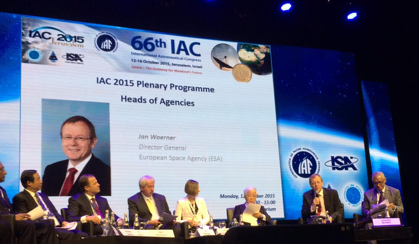 Heads of agencies at IAC 2015