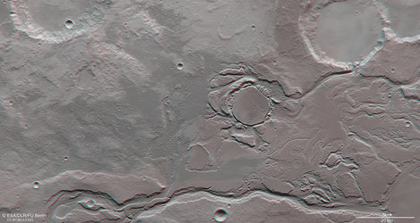 Mangala Valles in 3D